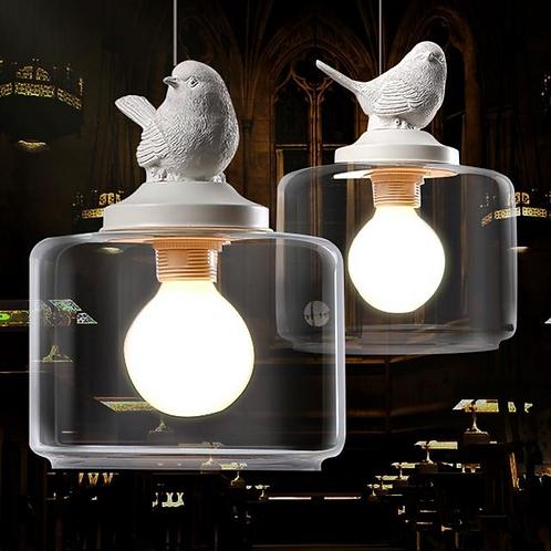 北歐風 | 小鳥玻璃吊燈 04