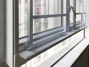 蚊網-磁石式窗花近攝效果 | Hometown Design
