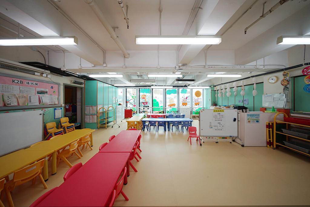 垂直簾-幼稚園活動室 | Hometown Design