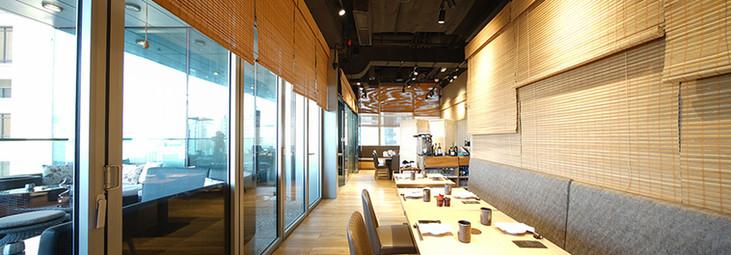 竹簾-日式餐廳露台遮光 | Hometown Design