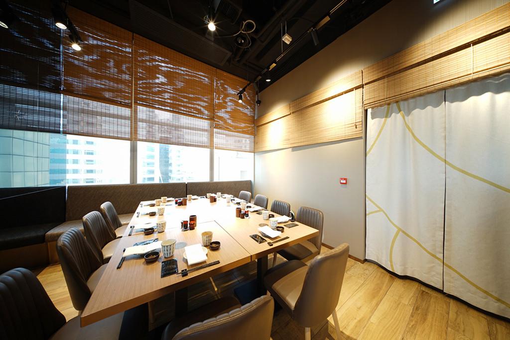 竹簾-日式餐廳門簾印刷 | Hometown Design