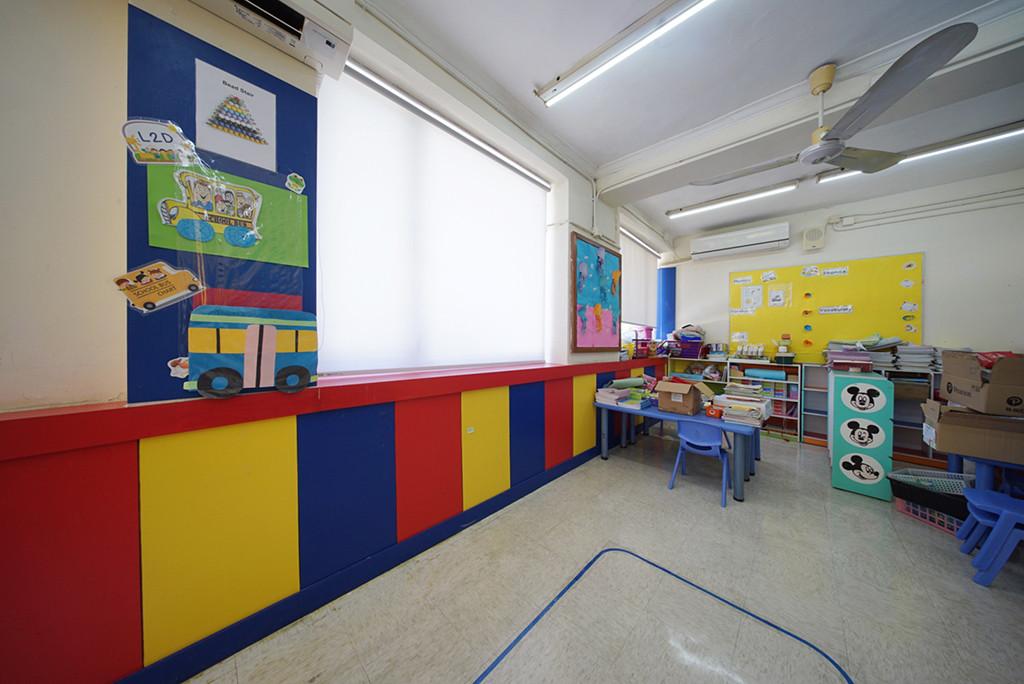 捲簾-幼稚園一體式效果 | Hometown Design