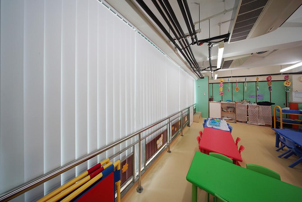 垂直簾-幼稚園近攝效果 | Hometown Design