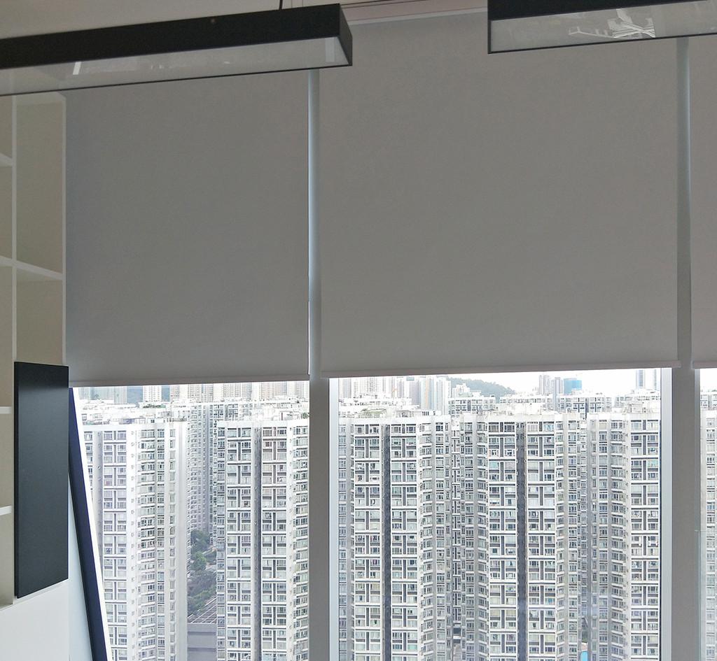 捲簾-商用辦公室透光效果 | Hometown Design