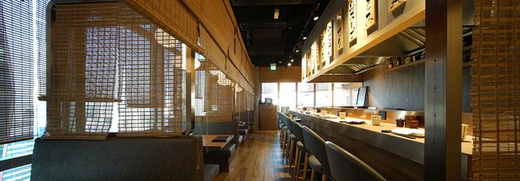 竹簾-日式餐廳間隔方案 | Hometown Design