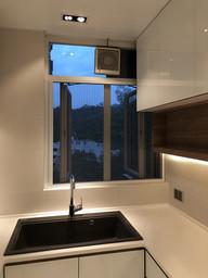 蚊網-風琴式廚房關閉效果 | Hometown Design