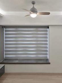 斑馬簾-窗台遮光效果 | Hometown Design