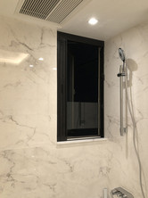 蚊網-風琴式浴室開啟效果 | Hometown Design