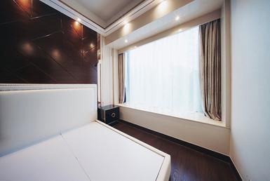 布藝窗簾-奢華風格開啟效果 | Hometown Design