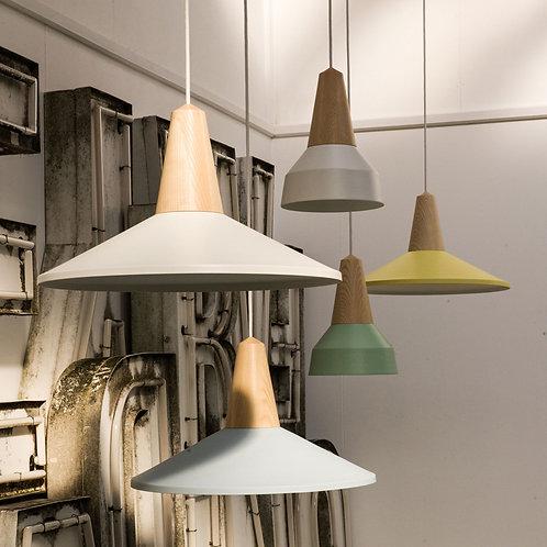 北歐風 | 木.色吊燈 07