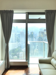 布藝窗簾-高層遮閂 | Hometown Design