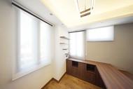 蜂巢簾-工作空間透光物料採光效果   Hometown Design