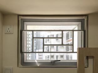 蚊網-磁石式氣窗效果 | Hometown Design