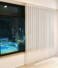 垂直柔紗簾-一體式遮光透光 | Hometown Design