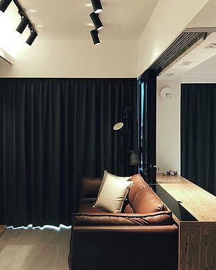 布藝窗簾-窗簾遮光效果 | Hometown Design
