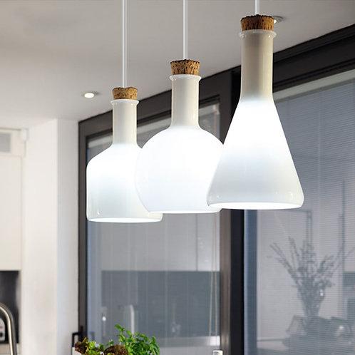 LOFT   白色Beaker吊燈 直排式 05
