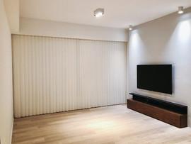 垂直柔紗簾-窗簾遮光效果 | Hometown Design