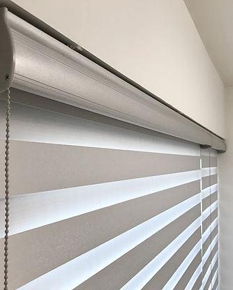 斑馬簾-窗簾光影效果 | Hometown Design