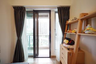 蚊網-捲式露台門一體式效果 | Hometown Design