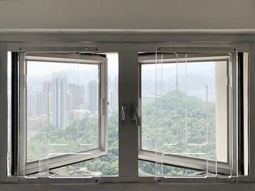 貓網-透明窗花雙窗效果 | Hometown Design