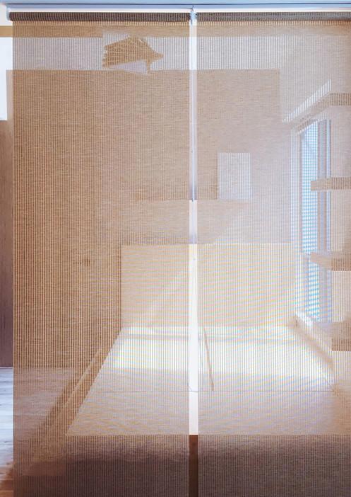 捲簾-其他透光物料間隔簾效果 | Hometown Design