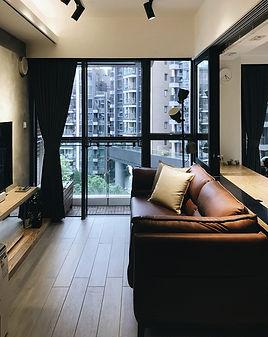布藝窗簾-純色布料 | Hometown Design