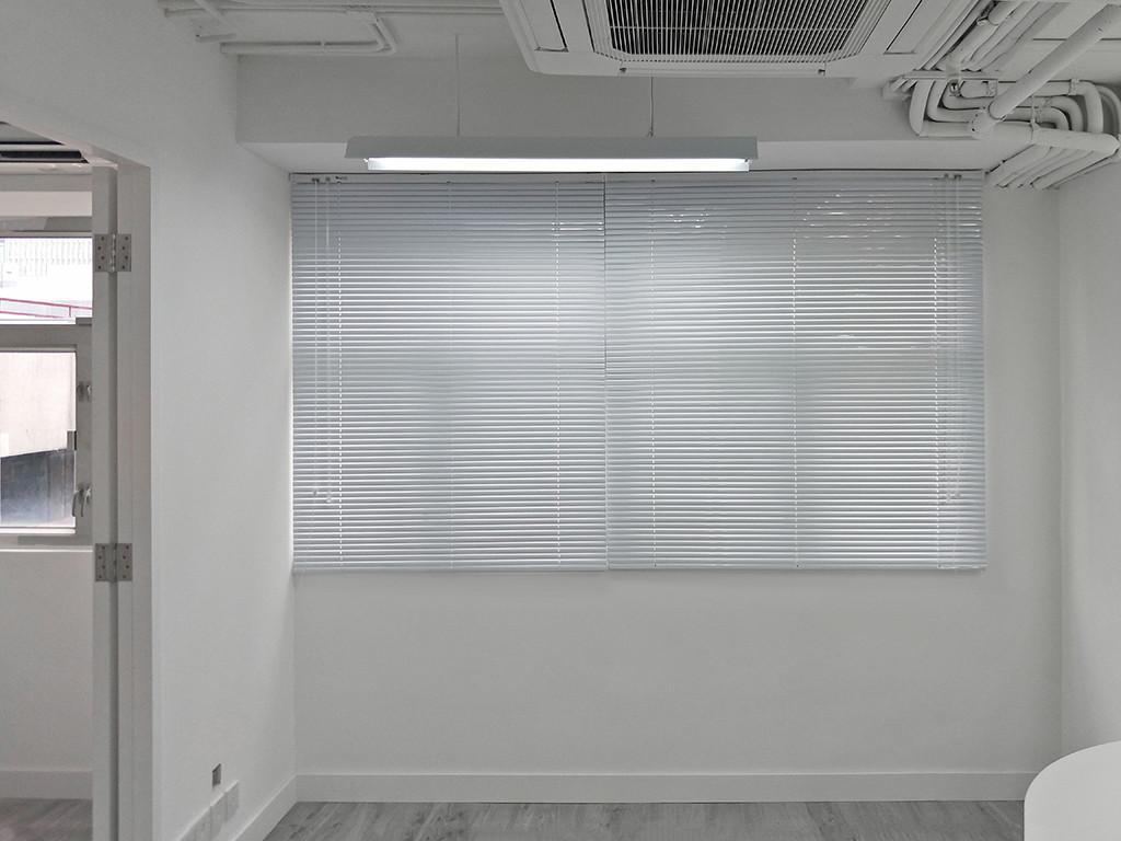 百葉簾-商用辦公室遮光效果 | Hometown Design