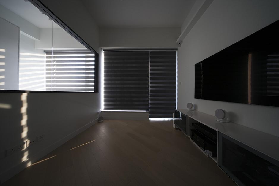 斑馬簾-窗簾強遮光效果   Hometown Design
