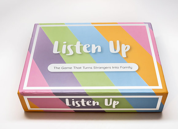 Listen Up board game box