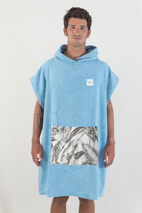 SURF PONCHO - cobalt | jungle