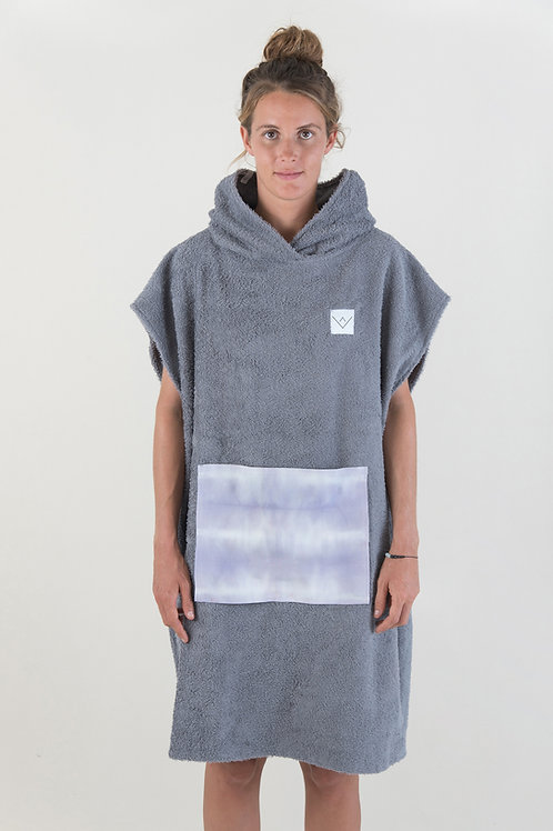 SURF PONCHO - darkgrey | blackbeans