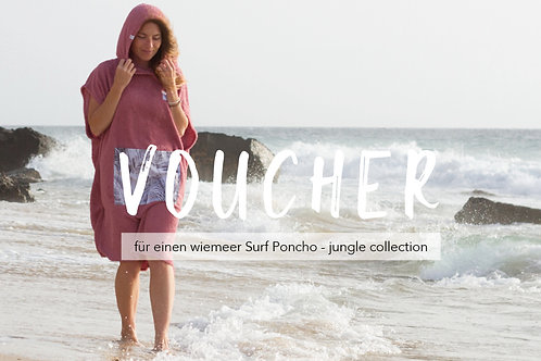 VOUCHER - jungle Surf Poncho