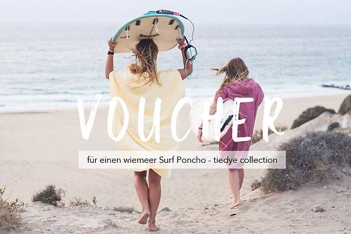 VOUCHER - tiedye Surf Poncho