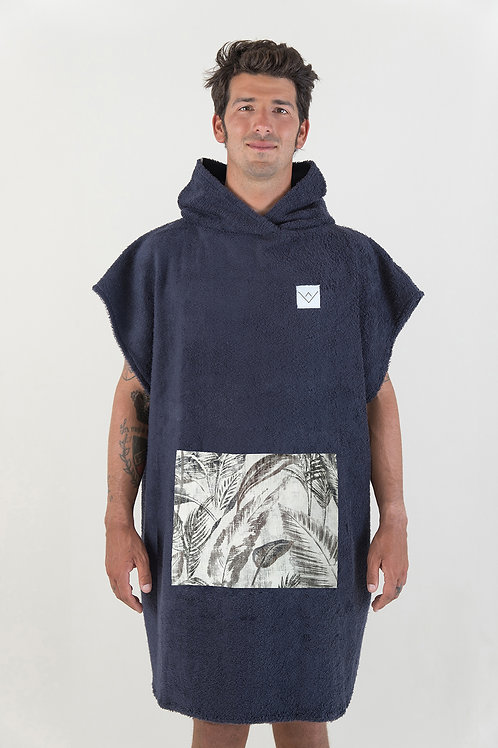 SURF PONCHO - navy | jungle