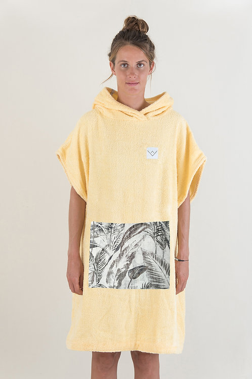 SURF PONCHO - yellow | jungle
