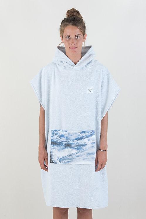 SURF PONCHO - grey | wjina