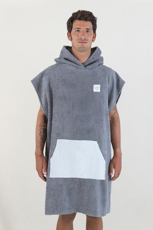 SURF PONCHO - basic - darkgrey   grey