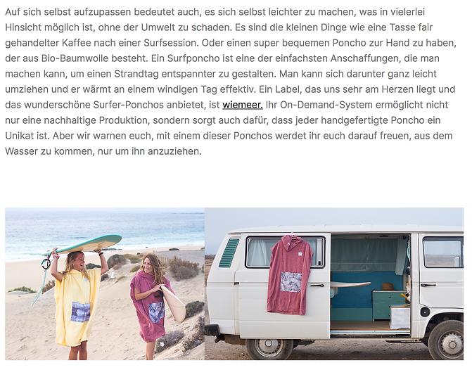 boochen - wiemeer surf poncho