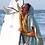 Thumbnail: SURF PONCHO - mint | grey