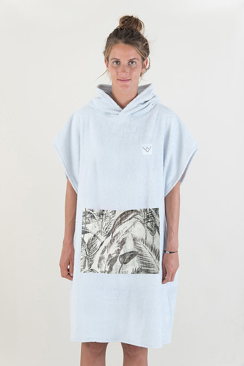 SURF PONCHO - grey | jungle