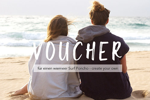 VOUCHER - create your own Surf Poncho