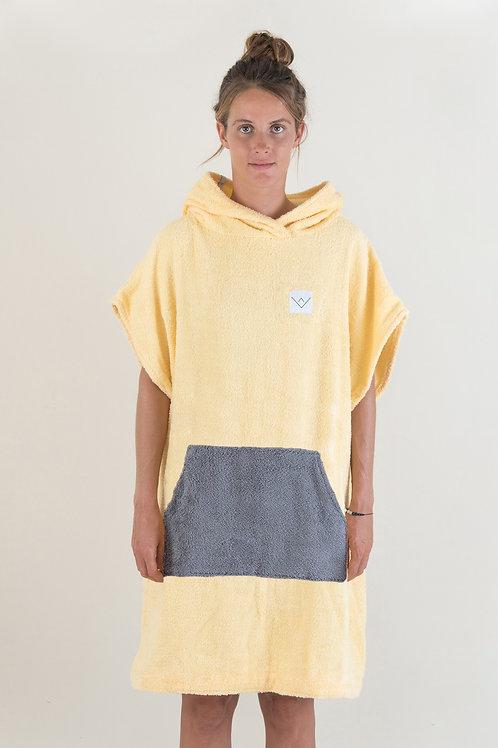 SURF PONCHO - basic - yellow | darkgrey