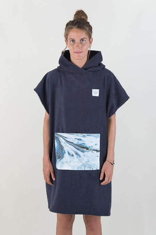 SURF PONCHO - navy | glaryiva