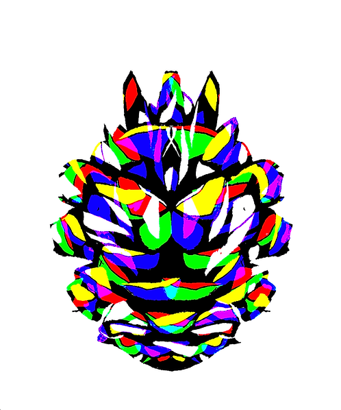 Psychedelic Pinecone