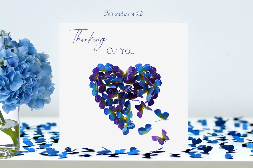 Forget Me Not Thinking of You Card