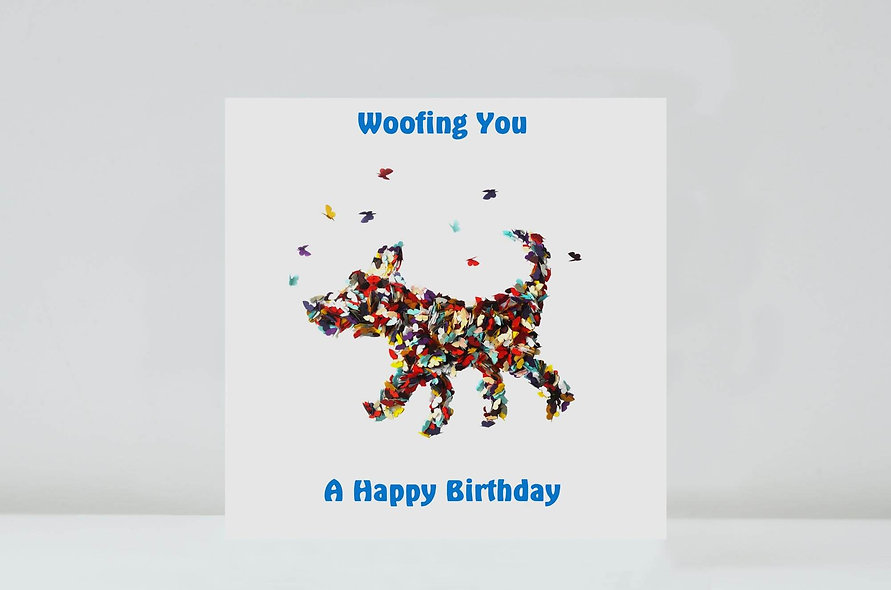 Available in Woofin You - Happy Birthday, Happy Mother's Day, Happy Father's Day