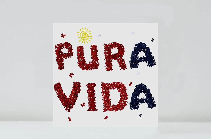 Pura Vida Card, Costa Rica Card
