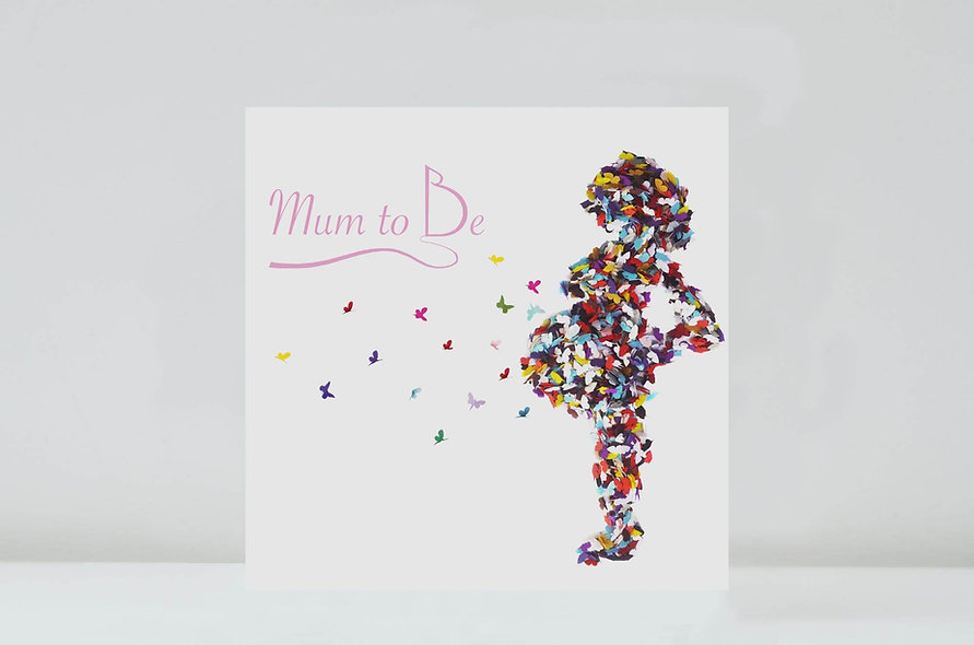 Mum To Be Congratulations Card/ Baby On the Way Card
