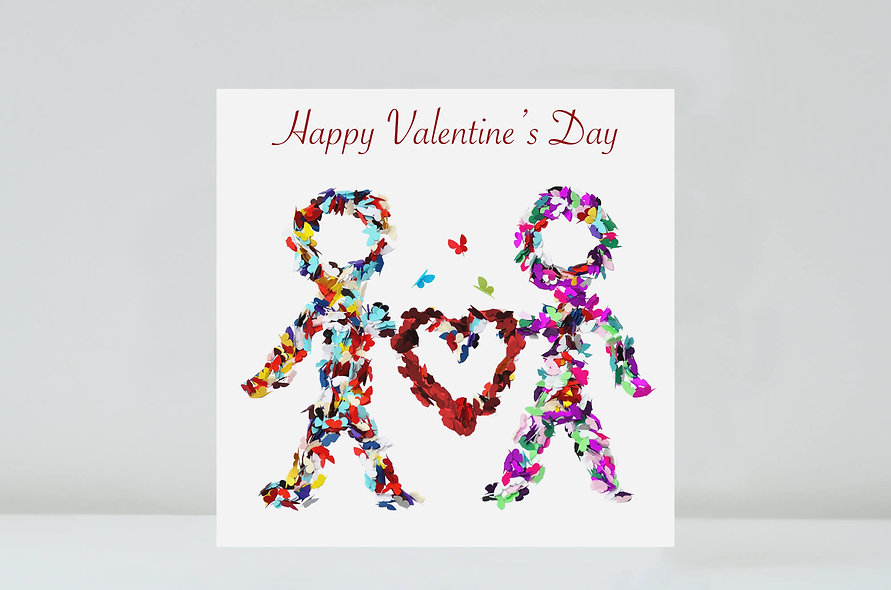 Happy Couple Valentine's Day Card