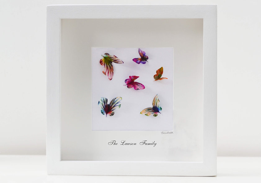 Family Butterfly Art